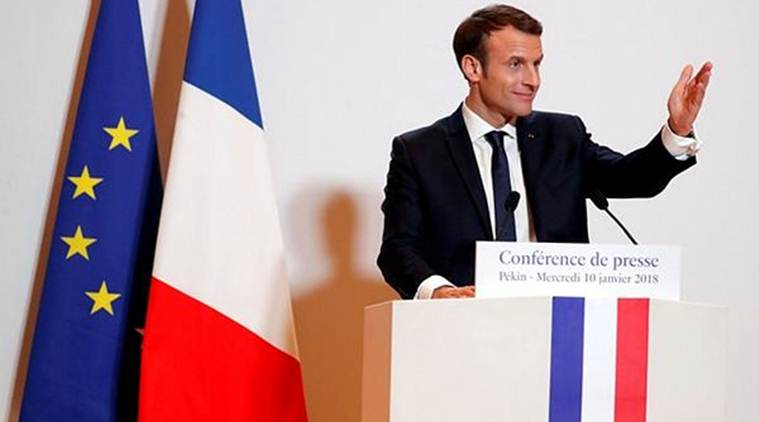 France denies troop moves in Syria, french troops in syria, nato, turkey, syria war, Emmanuel Macron, syrian rebels, Recep Tayyip Erdogan, world news, indian express