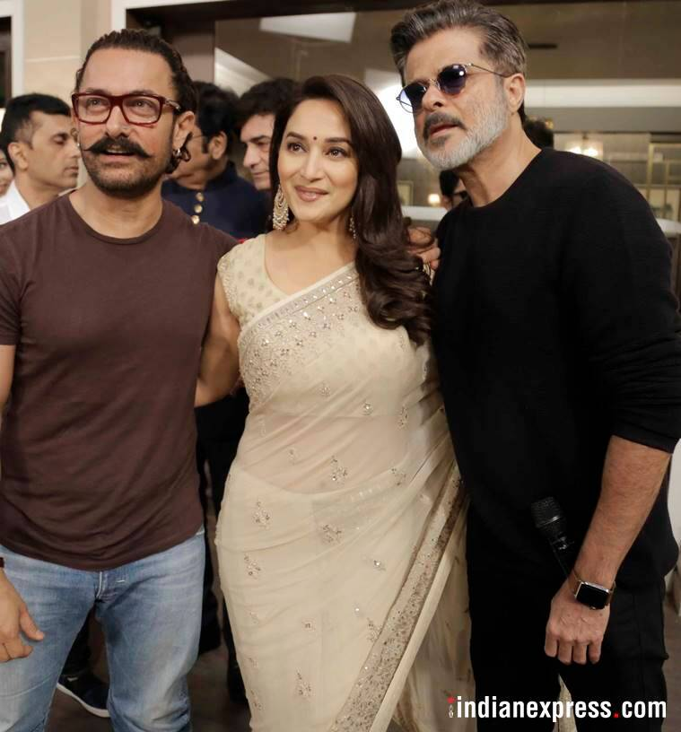 Flashback to the '90s - When Aamir Khan, Ajay Devgn, Anil Kapoor and Madhuri Dixit came together