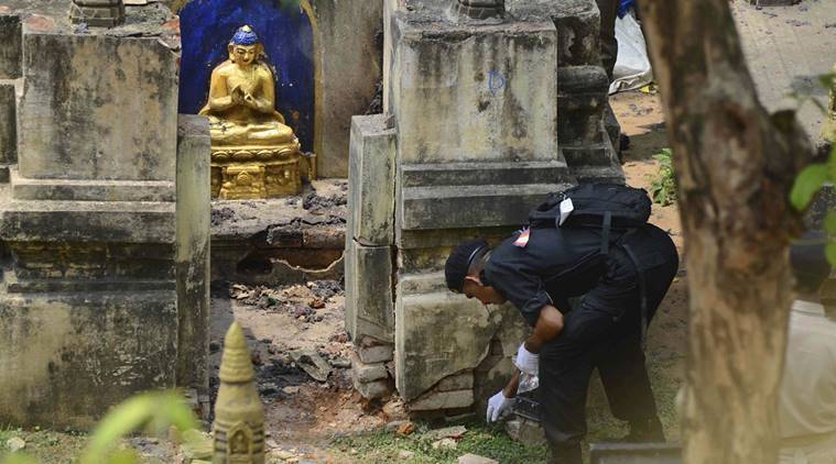 Security beefed up after bombs found near Mahabodhi temple