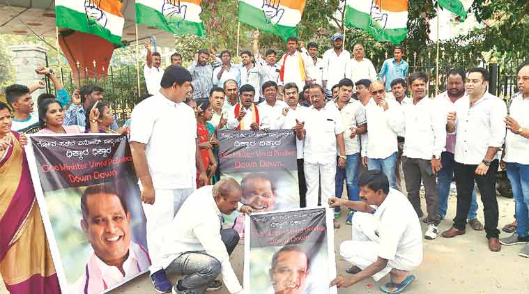Mahadayi water dispute, Karnataka-Goa, Goa government, Siddaramaiah, Manohar Parrikar, Karnataka drinking water claim, india news, indian express news