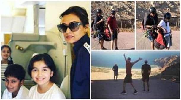 Mahesh Babu Namrata Shirodkar Kids On A Family Vacation