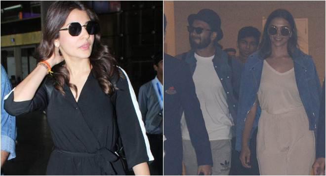 Anushka Sharma returns to Mumbai after vacation with hubby Virat Kohli