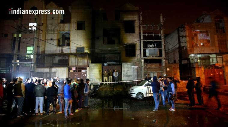 Bawana warehouse fire: I leapt, 3 relatives got left behind, says 24-year-old