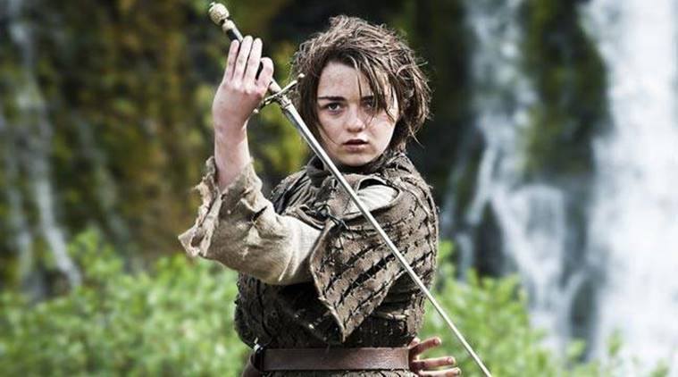 Image result for maisie williams game of thrones
