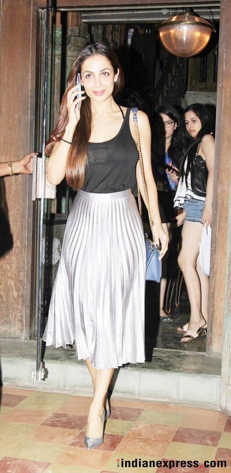 Malaika Arora S Outfit Is Proof That Metallics Are Going