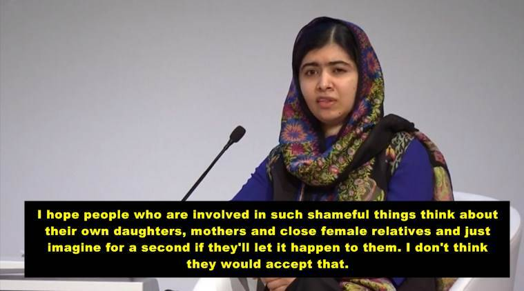 Malala has a message for President Trump on women's rights