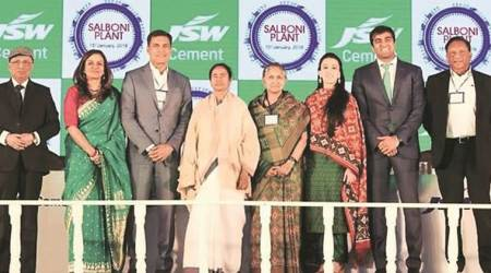 Mamata says new JSW Cement unit to boost investments, takes on central govt overfunds