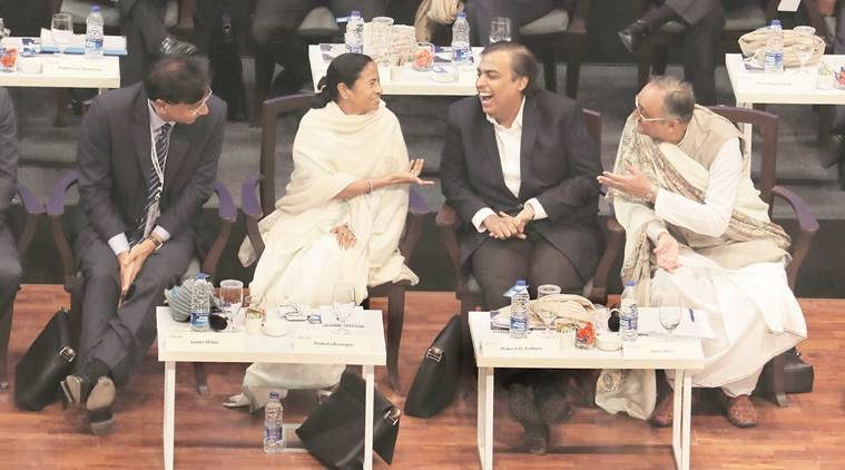 mamata banerjee, west bengal chief minister, west bengal business summit, bengal jobs, bengal employment, indian express