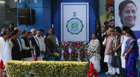 Mamata unveils West Bengal logo, says will continue to push Centre for name change ofstate