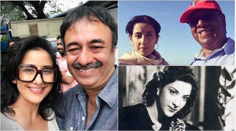 manihsa koirala as nargis dutt in dutt biopic