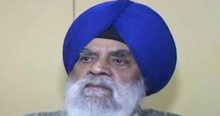 manjeet singh calcutta, manjeet singh passes away, former punjab cabinet minister, former SGPC chief, punjab news