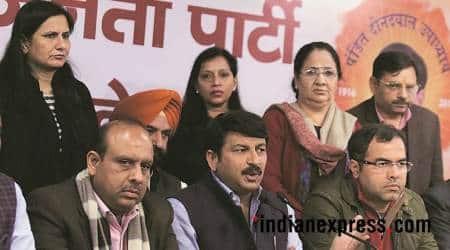 AAP adding fuel to SSC fire: Manoj Tiwari