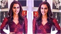 Manushi Chhillar's shimmery red mini at Dabboo Ratnani's calendar launch will give you party wear goals