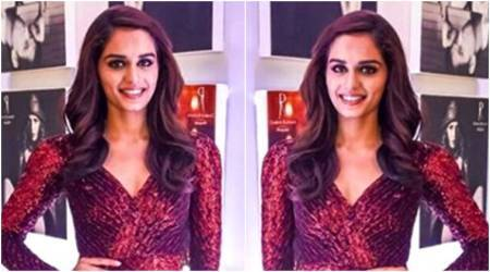 Manushi chhillar, Manushi chhillar fashion, Manushi chhillar dress, Manushi chhillar style, Manushi chhillar Dabbo Ratnani, Manushi chhillar Dabbo Ratnani calendar launch, Manushi chhillar latest photos, Manushi chhillar latest news, Manushi chhillar updates, Manushi chhillar images, Manushi chhillar pictures, celeb fashion, bollywood fashion, indian express, indian express news