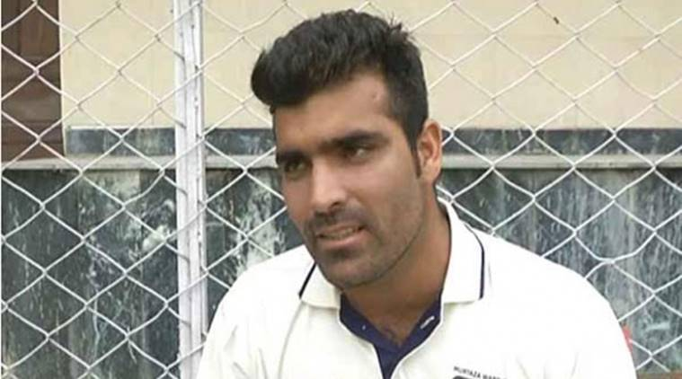 Jammu and Kashmir player Manzoor Ahmad Dar