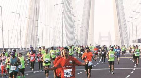 Tata Mumbai marathon 2018: Over 44,000 runners sweat it out