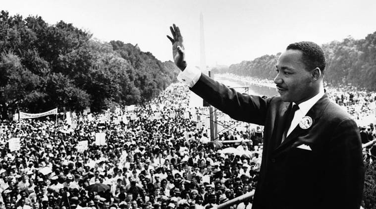 Martin Luther King Day celebrated in Google Doodle