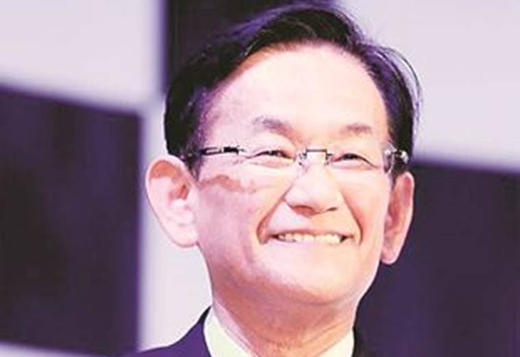Maruti MD & CEO Kenichi Ayukawa, Kenichi Ayukawa, Maruti Car, Maruti Suzuki, Business News, Latest Business News, Indian Express, Indian Express News