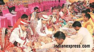 13 couples tie the knot at mass wedding ceremony inChandigarh