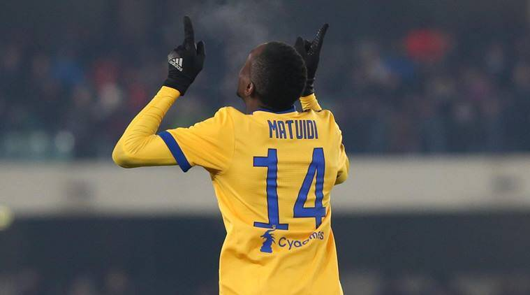 Juventus's Blaise Matuidi says he was racially abused at Cagliari