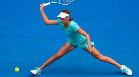 Australian Open 2018, Australian Open 2018 result, Elise Mertens, Petra Martic, sports news, tennis, Indian Express