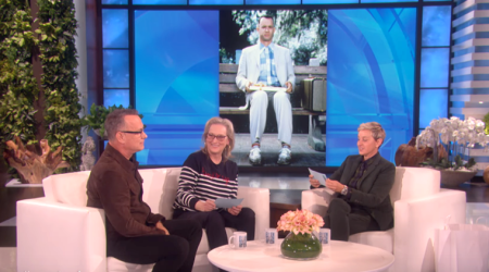 WATCH: Hold your breath! Meryl Streep and Tom Hanks play each other's iconic roles on Ellen DeGeneresShow