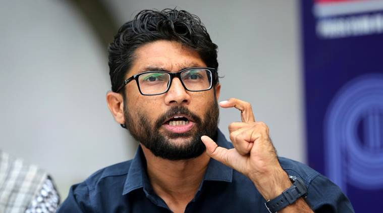 Jignesh Mevani, Jignesh Mevani attacks PM Modi, Lok Sabha elections, 2019 elections, Gujarat Lok Sabha, Indian Express, cow vigilantism, dalits, Indian express