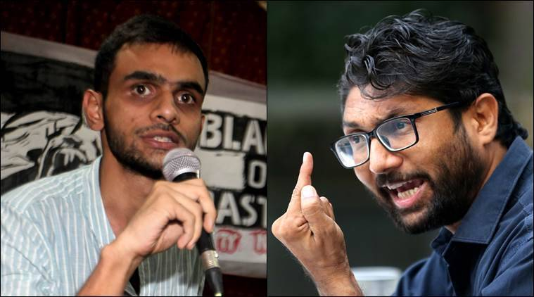 FIR against Jignesh Mevani, Umar Khalid for provocative speech