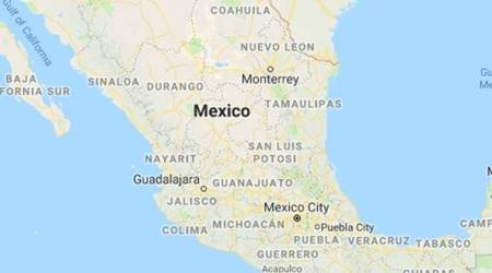 Pickup truck, train collision in Mexico kills 5, injures 10