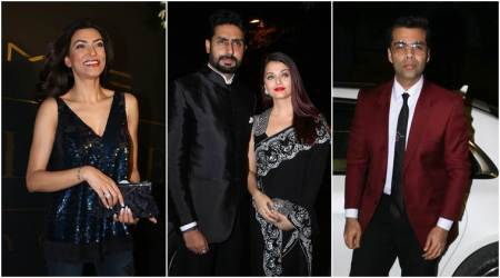 Aishwarya Rai, Sushmita Sen, Karan Johar and others add sparkle to Mickey Contractor's bash