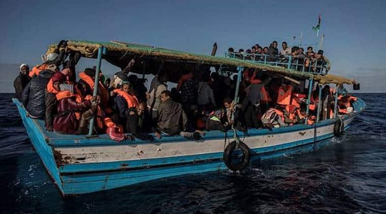 migrants rescued at sea, spanish frigate, proactiva open arms, libya, misrata, spanish defence ministry, italy, migrant crisis, european border patrol