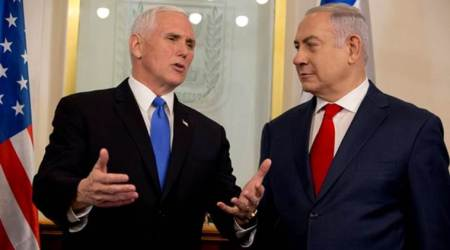 US embassy to move to Jerusalem by end of 2019, says Vice President Mike Pence