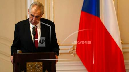 Incumbent Zeman wins second term in Czech presidentialrun-off