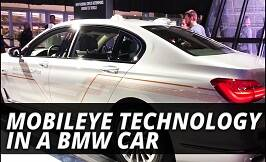Mobileye Technology In A BMW Car