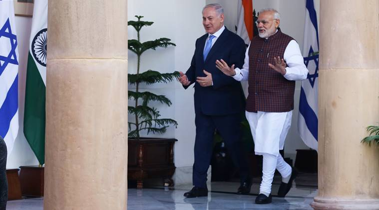 Israel PM Netanyahu thanks PM Modi for India's vote against Palestinian group