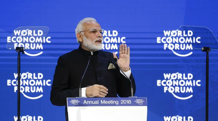 Climate change, terrorism are biggest threats the world is facing today: PM Modiin Davos