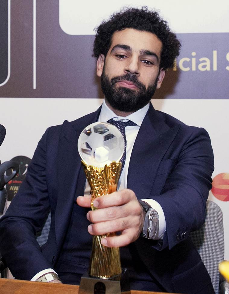 Mohamed Salah is the leading goal scorer for Liverpool this year.