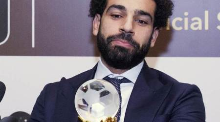 Liverpool forward Mohamed Salah named African Footballer of the Year