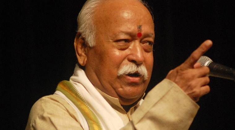 Mohan Bhagwat, RSS, Chhattisgarh tribes, Sarva Adivasi Samaj, RSS, idnia news, indian express