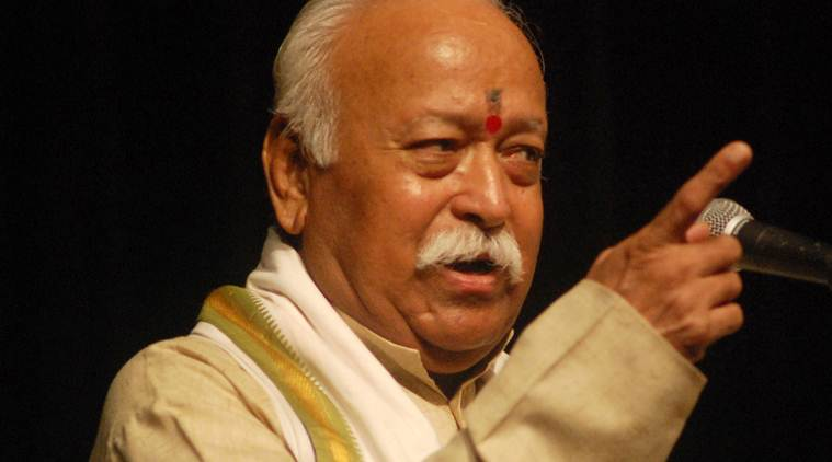 RSS, Mohan Bhagwat, Mohan Bhagwat on social media, Mohan Bhagwat on Facebook, Mohan Bhagwat Twitter comment, Indian express