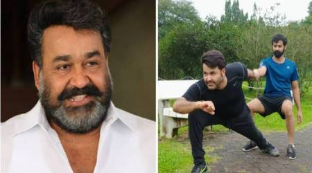 Mohanlal and Pranav are giving us workout goals for the New Year