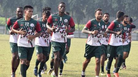 Dipanda Dicka, Dipanda Dicka goals, Mohun Bagan, East Bengal, I-League, sports news, football, Indian Express
