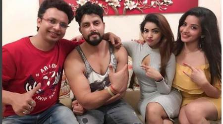 Ex-Bigg Boss contestants let their hair down at Monalisa's New Year party, see photos