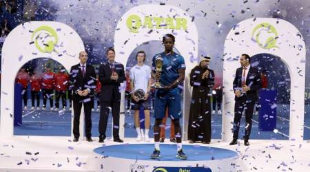 Gael Monfils back in business with Qatar Opentitle