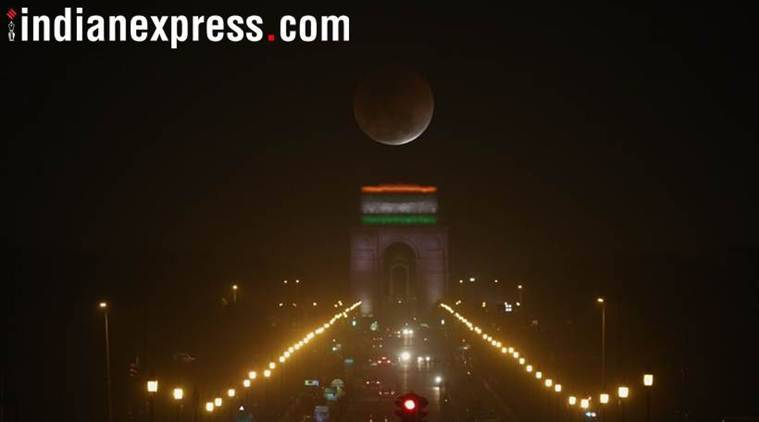 red moon today india time - photo #33