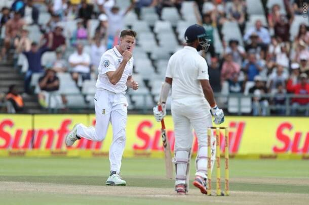 India vs South Africa, Ind vs SA, Vernon Philander, Virat Kohli, Hardik Pandya, AB de Villiers, India tour of South Africa 2018, sports gallery, cricket photos, Indian Express