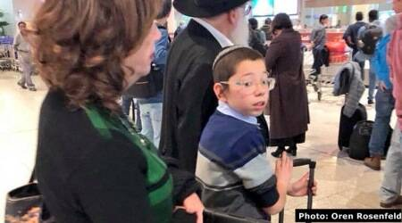 'Baby' Moshe Holtzberg, survivor of 26/11 terror attacks, back in Mumbai