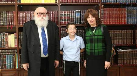 On first Mumbai visit since 2008 terror attack: Quieter Day 2 for Moshe Holtzberg, away frommedia