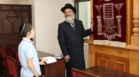 As Moshe comes visiting after 9 years, locals recall Chabad House without its walls