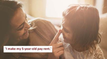 Mother takes $5 RENT from her 5-yr-old daughter; sparks debate on social media